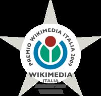Wikimedia Italia Award 2009 winner