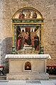 Bartolomeo vivarini, madonna e santi, con lunetta del cristo in pietà tra due santi, 1476, 01.jpg