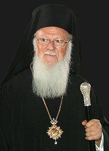 Seine Allheiligkeit Bartholomaios I. (Archondonis) Erzbischof von Konstantinopel, dem neuen Rom, und Ökumenischer Patriarch