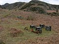 Base of aerial cableway pylon, Cwm Bychan - geograph.org.uk - 1384103.jpg