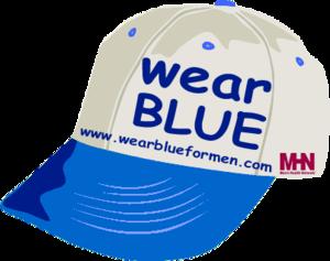 International Men's Health Week - Wear blue for men's health cap