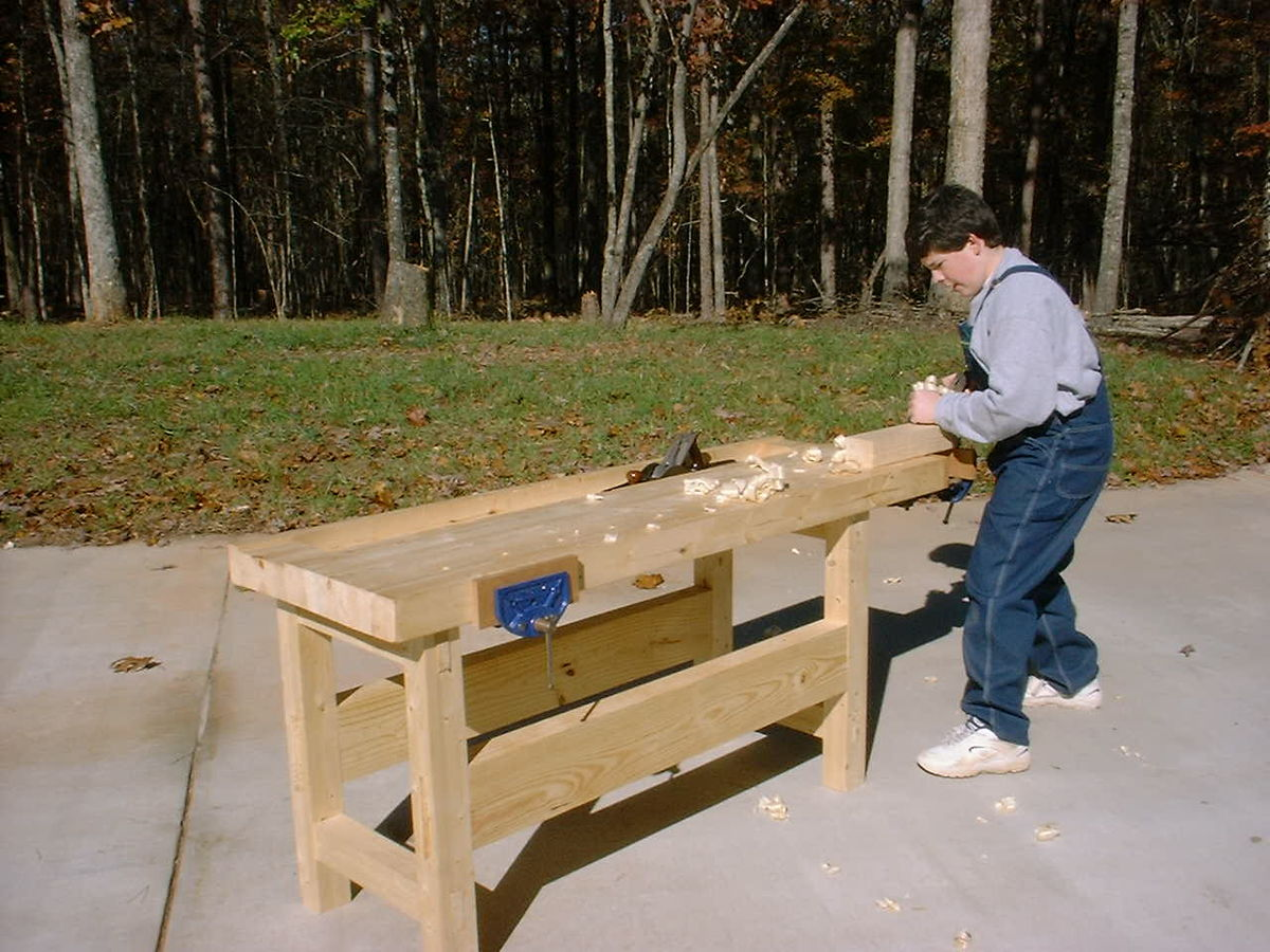 Excellent Workbench Woodworking Wikipedia Machost Co Dining Chair Design Ideas Machostcouk