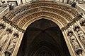 Basilique Sainte-Clotilde Paris Portail central 2 26102018.jpg