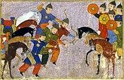 Bataille de vâliyân (1221)