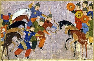 Mongol invasions and conquests - Battle of Vâliyân against the Khwarazmian dynasty.