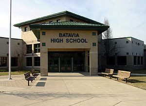 Batavia High School (Illinois) - Image: Bataviahs