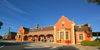 Main Western railway line, New South Wales - Bathurst station