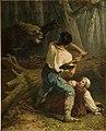 Battle of Life and Death by Charles Verlat Rijksdienst voor het Cultureel Erfgoed B656.jpg
