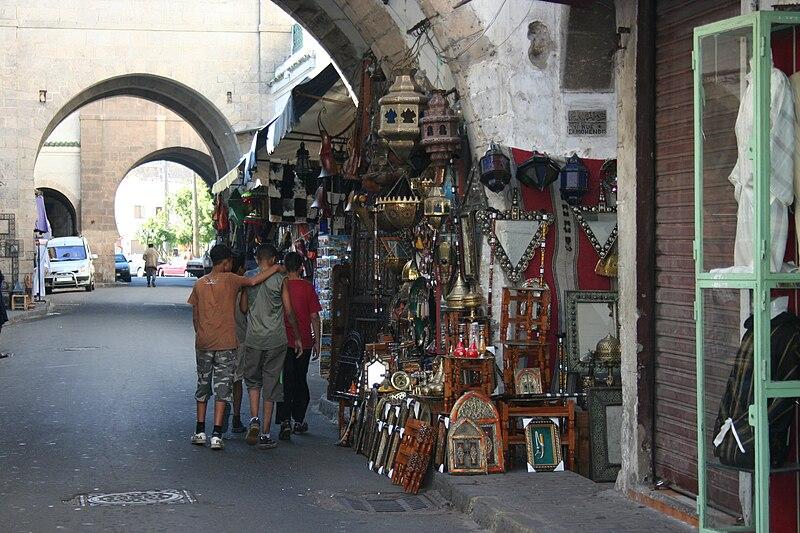 Bazares en Casablanca