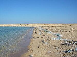 Der Strände von Scharm en-Nāqa gelten nicht als Highlight in Ägypten