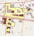 Beaverton Downtown HD boundary map.png