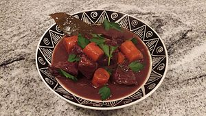 Beef bourguignon - Image: Beef bourguignon NYT