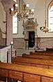 Beesaal Synagoge Worms. Toraschrein (Aron ha-kodesch), Menora und Ewiges Licht..jpg