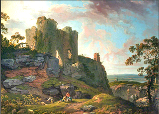 George Barret Sr. Irish landscape artist