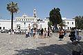 Before pilgrimage church, Chora of Tinos, 090794.jpg