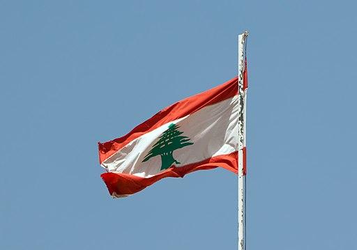 Beiteddine - drapeau libanais