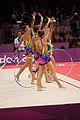 Belarus rhythmic gymnastics team 2012 Summer Olympics 24.jpg
