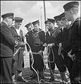 Belgian Sailors at a Skegness Training Camp- Belgian Naval Training at Butlin's, Skegness, Lincolnshire, England, UK, 1945 D24879.jpg