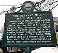 Belknap Mill historical marker Laconia NH.jpg