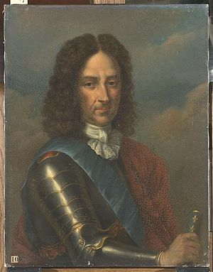 Bernardin Gigault de Bellefonds - Portrait of Bernardin Gigault de Bellefonds by Joseph Albrier.