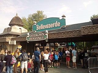 Bellewaerde animal theme park in Belgium