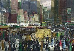 جورج بلز: New York