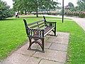Bench seat in Le Vesinet Promenade - geograph.org.uk - 970893.jpg