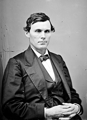 Oregon Territorial Legislature - Legislator Benjamin F. Harding.