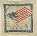 Benjamin Harrison-Morton American Flag Handkerchief, 1888 (4359404965).jpg