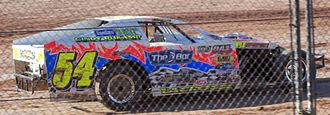 Dirt track racing - IMCA Modified car