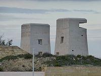 Beobachtungstuerme in Fort St. Elmo.jpg