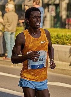 Feyisa Lilesa Ethiopian long-distance runner