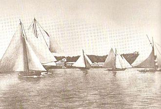 Bermuda rig - Image: Bermuda sloop race