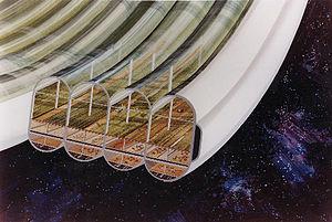 Bernal sphere - Image: Bernal Sphere agricultural module