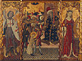 Bernat Martorell - Saint Michael, Martyrdom of Saint Eulalia and Saint Catherine - Google Art Project.jpg