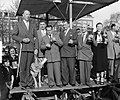 Bevrijdingsmarkt Amstelveld Amsterdam, strijd standwerker Nederland Belgie, Bestanddeelnr 906-4566.jpg
