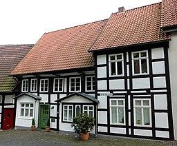 An der Stiftskirche in Bielefeld