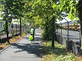 Bike path through industrial Interbay area of Seattle (7967356842).jpg