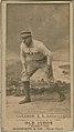 Bill Gleason, Philadelphia Athletics, baseball card portrait LCCN2008675107.jpg