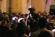 Billy Paul in concert.