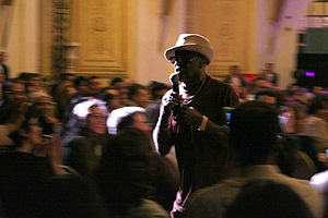 Billy Paul - Paul performing in Tunis, April 2006