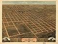 Bird's eye view of the city of Monmouth, Warren County, Illinois 1869. LOC 73693364.jpg