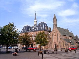 Bishop Auckland Market town and civil parish in County Durham, England