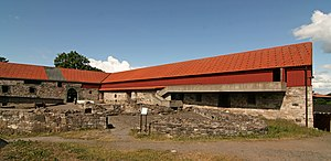 Alv Knutsson -  Ruins of medieval Bishop's palace (Hamarhus) in Hamar