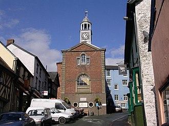 Bishop's Castle - Image: Bishops Castle geograph.org.uk 38232