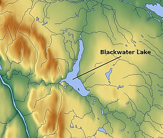 Blackwater Lake - Map