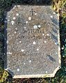 Bladon, Oxfordshire - St Martin's Church - churchyard, grave of Sarah Spencer-Churchill (1921-2000).jpg