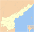 Blank map Andhra Pradesh state and districts.png