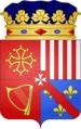 Blason Louis duc d'Arpajon 1645.png