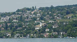 Herrliberg - Herrliberg from across Lake Zurich